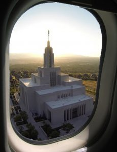 templethroughwindow Life is Like a Plane Journey - Temple Goals