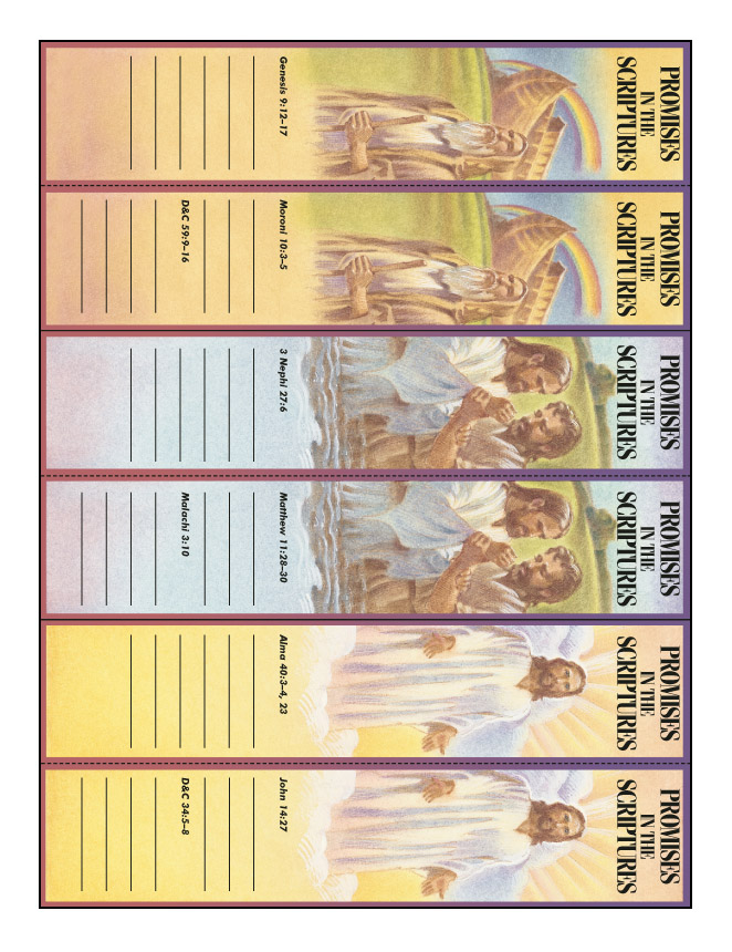 Promises Made in the Scriptures bookmark