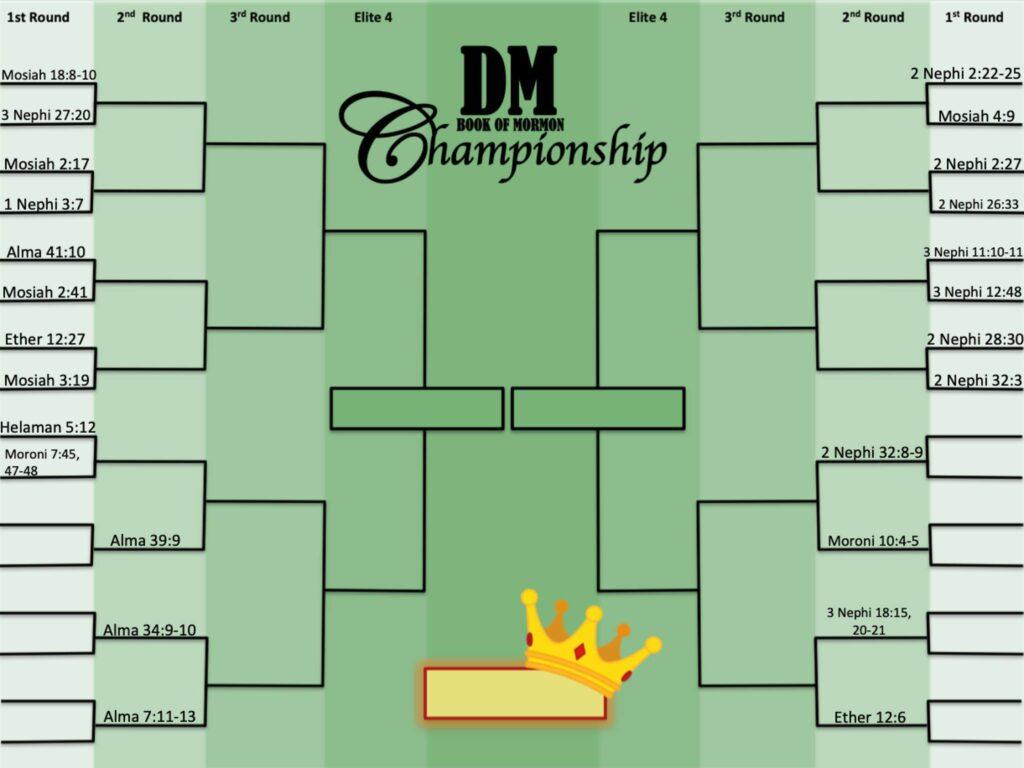 dm champ bracket Doctrinal Mastery March Madness Bracket